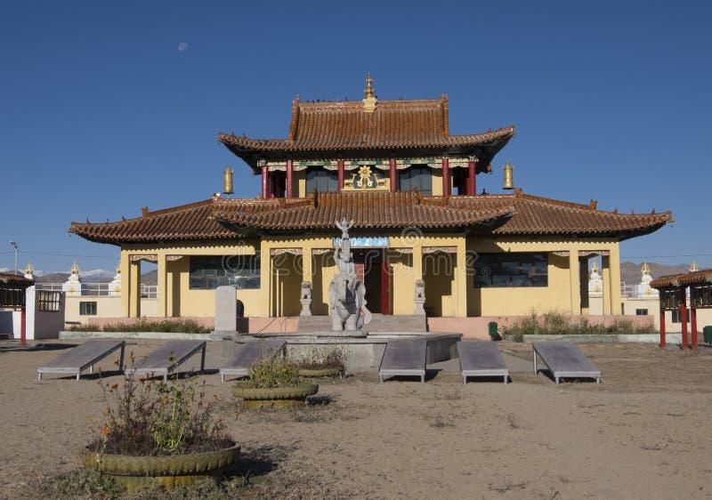 buddistisk kloster arkivbilder