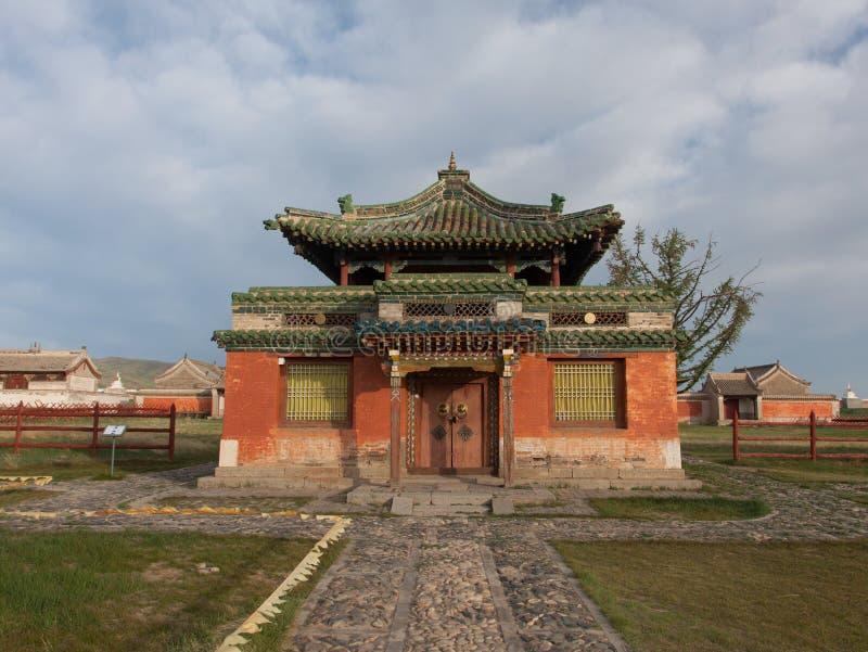Buddistisk kloster Erdene Zu royaltyfri foto