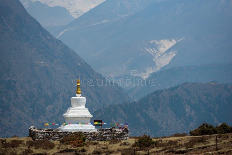 buddistisk nepal stupa fotografering för bildbyråer