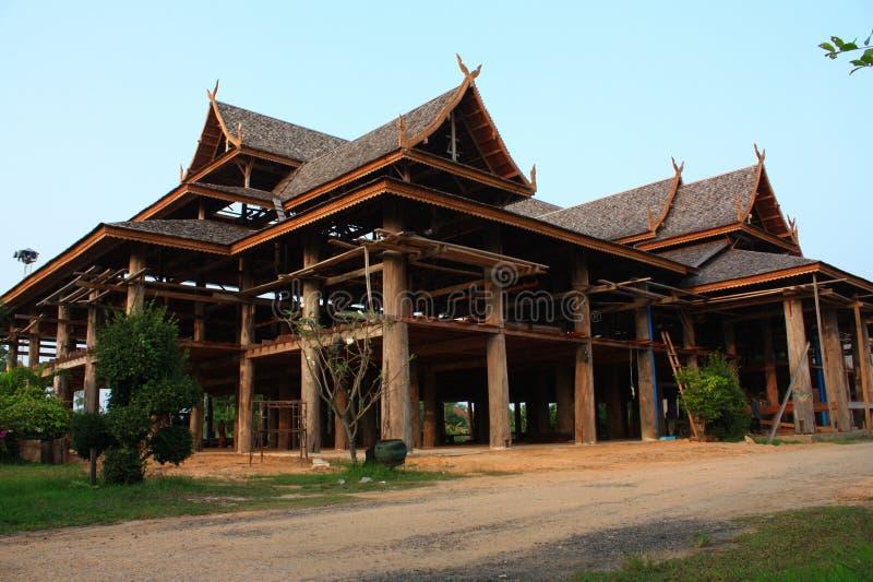 Buddistisk paviljong arkivbilder