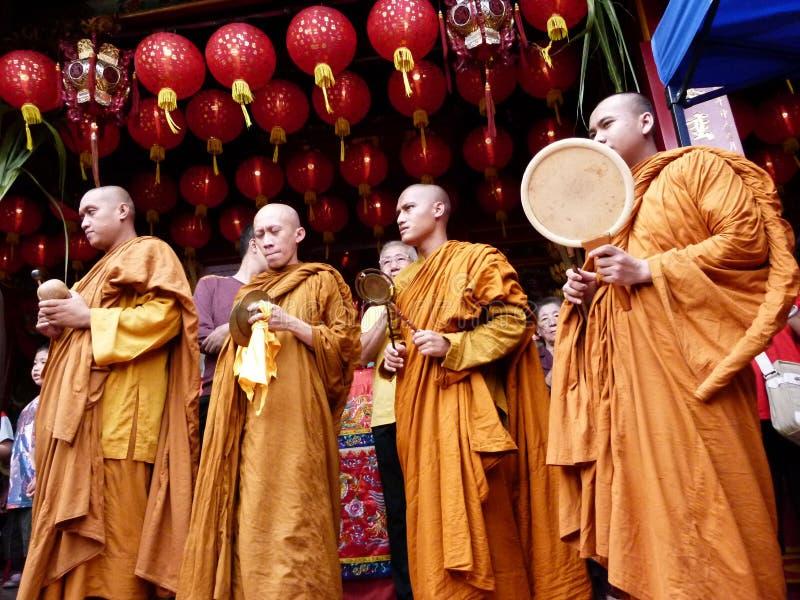 Buddistisk ritual royaltyfri fotografi