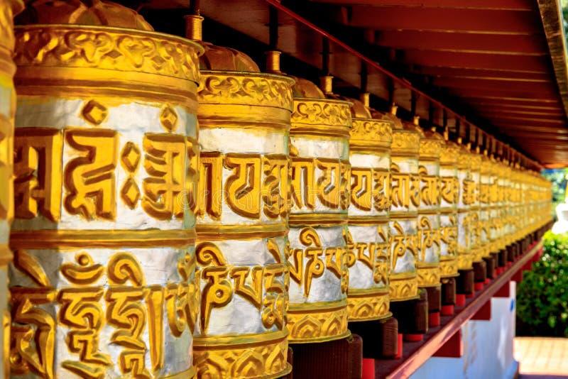 Buddistisk tempel Dag Shang KagyuDag royaltyfri fotografi