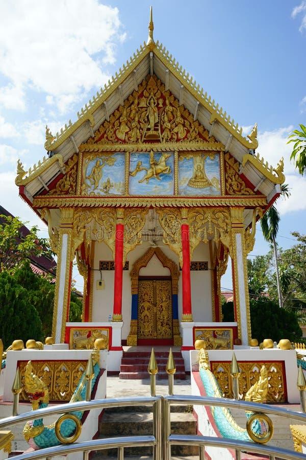 Buddistisk tempel i wat fotografering för bildbyråer