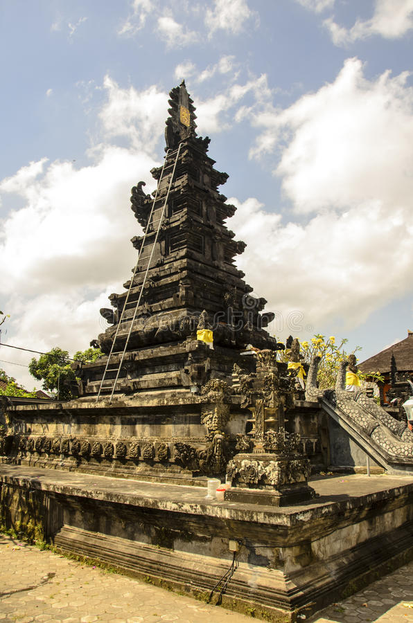 Buddistisk tempel, Indonesien royaltyfri foto