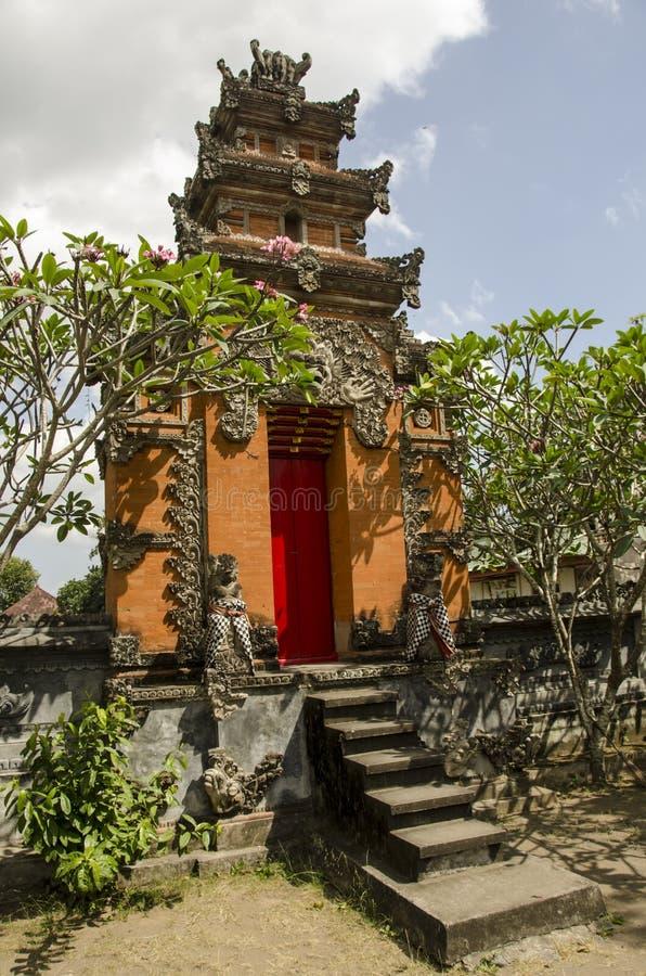 Buddistisk tempel, Indonesien royaltyfri fotografi
