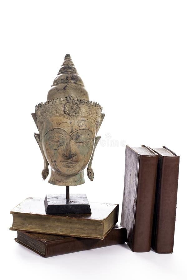 Buddistisk vishet Etik-, klosterbroder- och negro spiritualutbildning royaltyfri foto