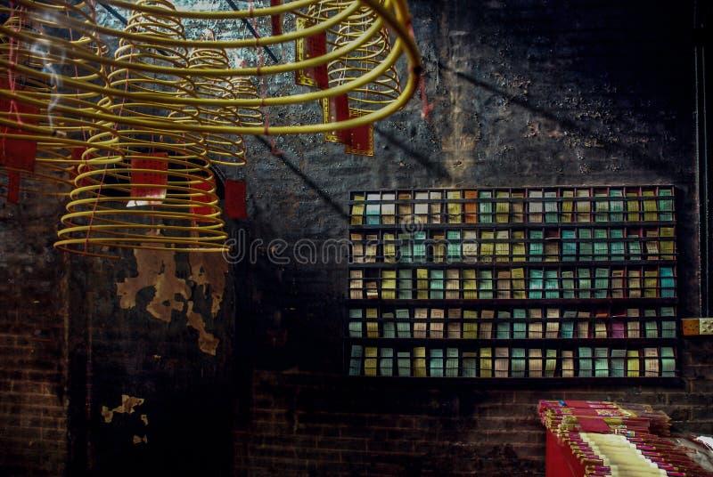 Buddistiska tempel i Macao arkivfoto