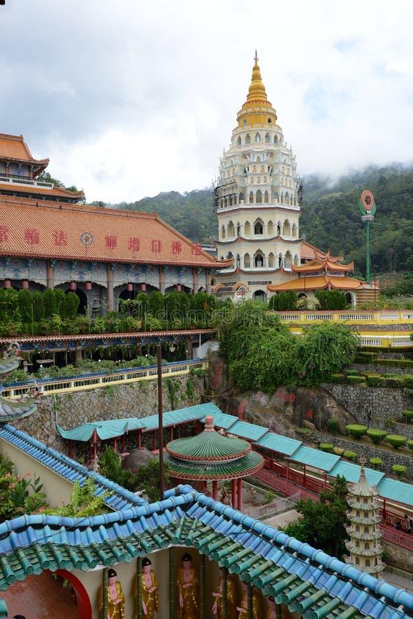 buddistiskt tempel för kekloksi royaltyfria foton