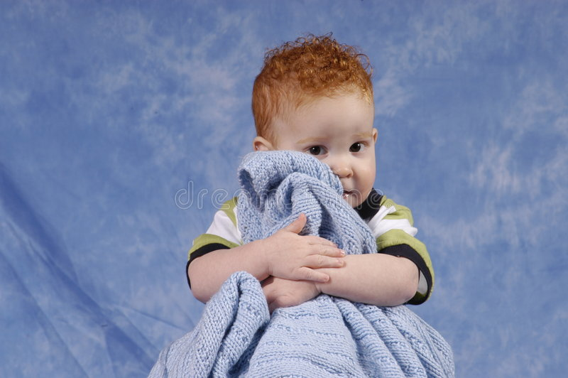 Download Buddy and his blanket stock image. Image of eyes, brown - 1048091