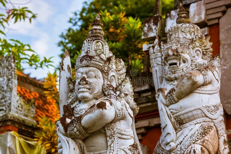 Buddyjska świątynia Banjar - wyspa Bali Indonezja zdjęcia royalty free