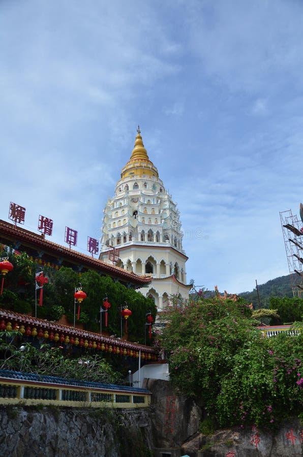 Buddyjska świątynia Kek Lok Si w Penang fotografia stock