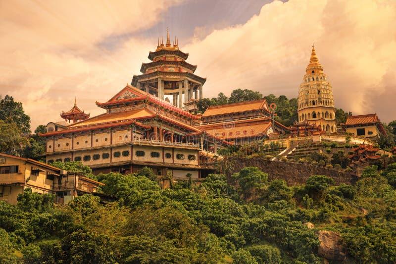 Buddyjska świątynia Kek Lok Si w Penang zdjęcie stock