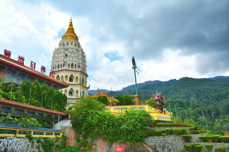 Buddyjska świątynia w Georgetown na Penang wyspie, Malezja zdjęcia stock