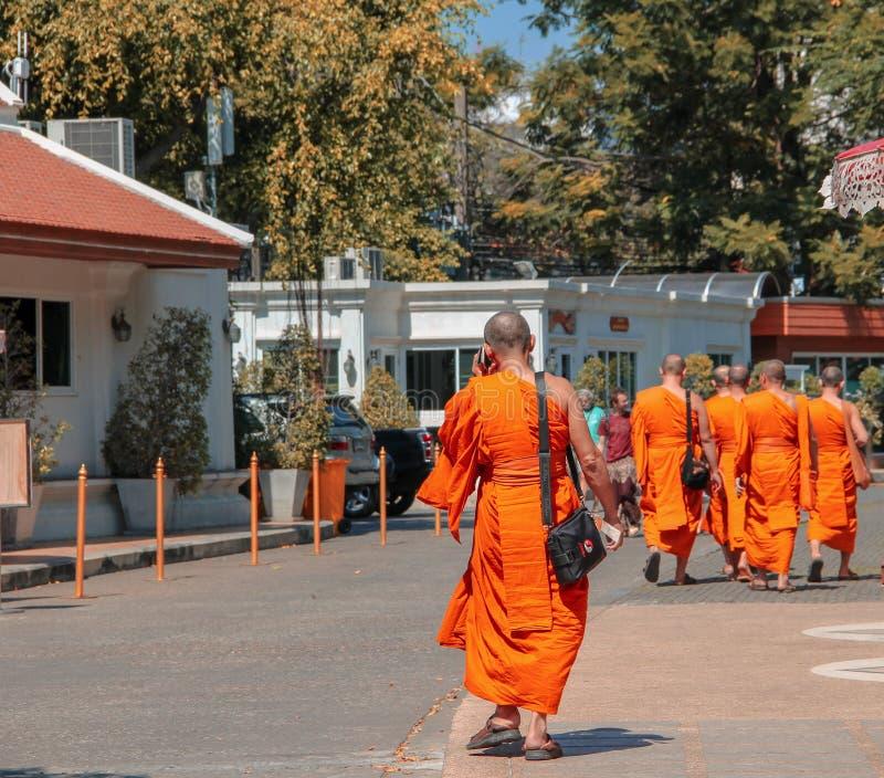 Buddyjska świątynia z antyczną stupą w Ayutthaya, Bangkok, Tajlandia obraz royalty free