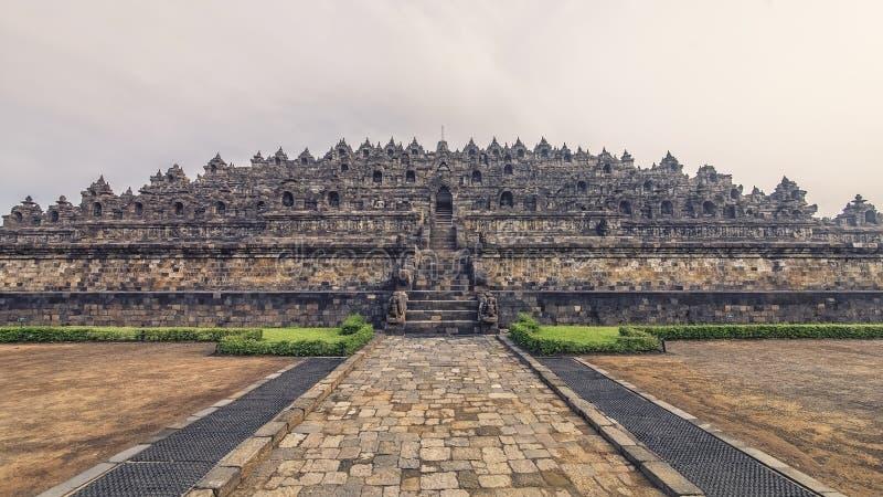 Buddyjska architektura w Jawa obraz stock