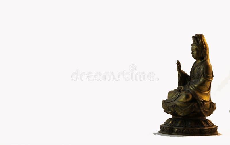Buddyjska Kwan Yin statua obraz stock
