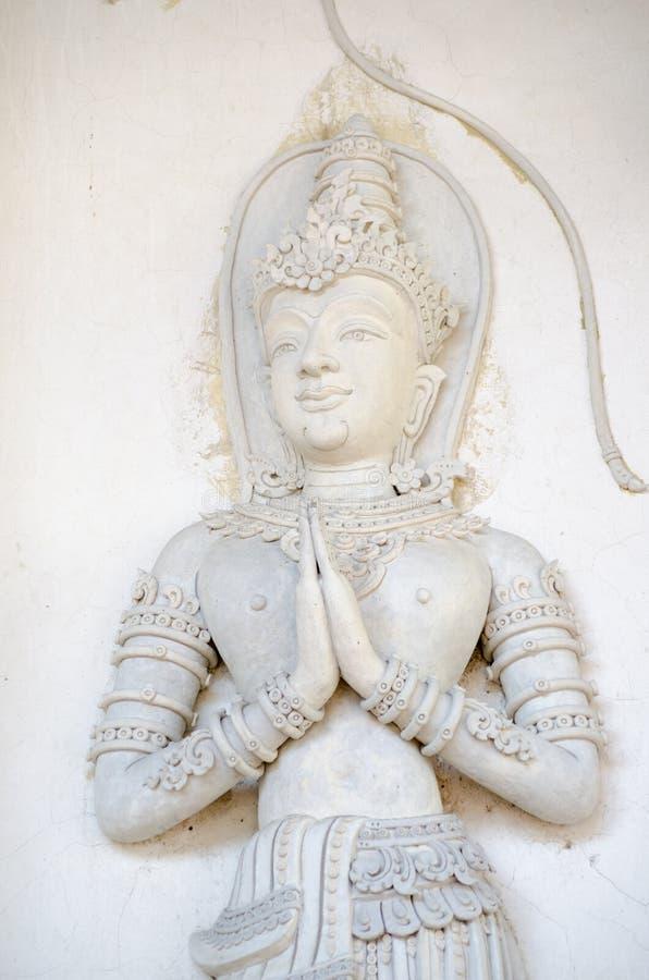 Download Buddyjska Rzeźba, Tajlandia Obraz Stock - Obraz: 28279421