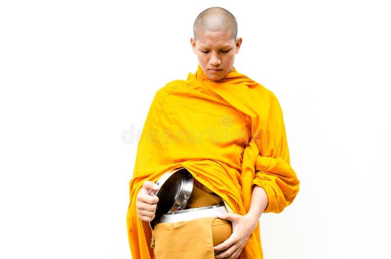 Buddyjska zasługa. michaelita s datków puchar zdjęcie stock