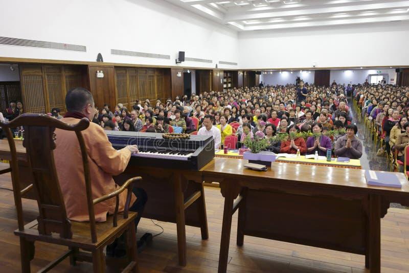 Buddyjski koncert zdjęcia royalty free