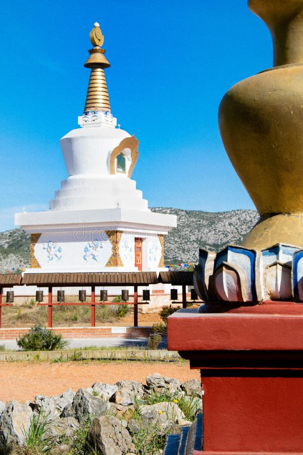 Buddyjski krasomówstwo fotografia stock