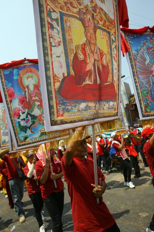 Buddyjski religijny rytuał obrazy stock