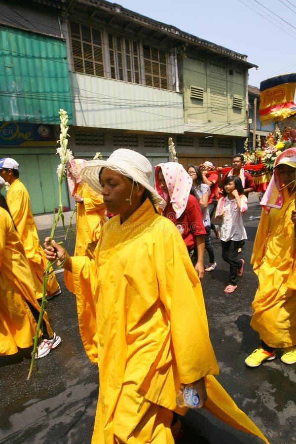 Buddyjski religijny rytuał fotografia royalty free