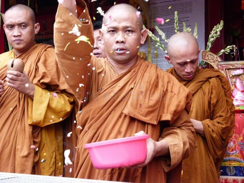 Buddyjski rytuał obrazy royalty free