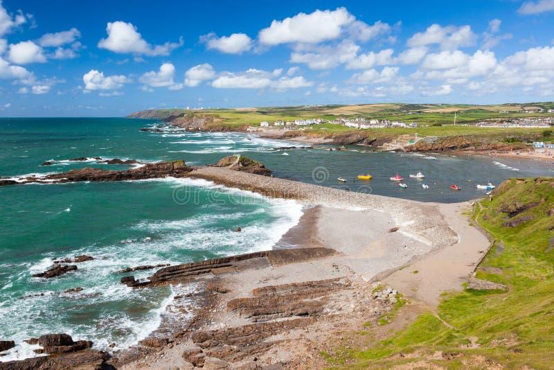 Bude Cornwall England stockbilder