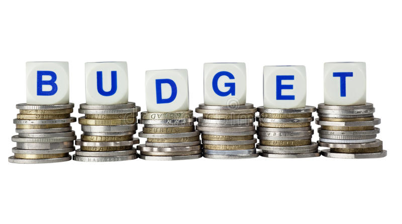 budget arkivfoto