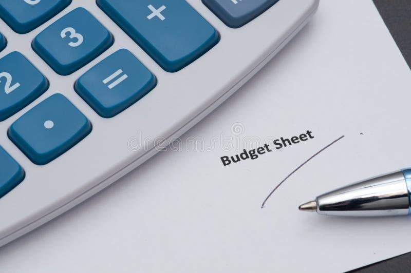 budget- ark arkivbilder