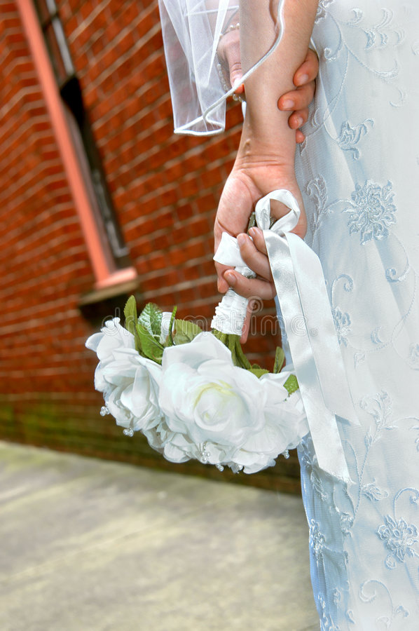 Download Budget Bride stock image. Image of holding, building, holds - 4185187