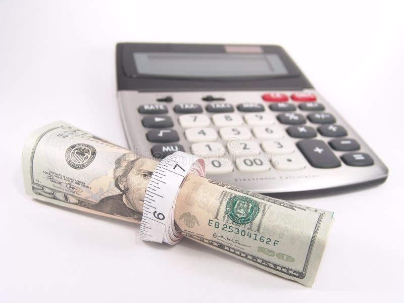 budget cost save tighten arkivbilder
