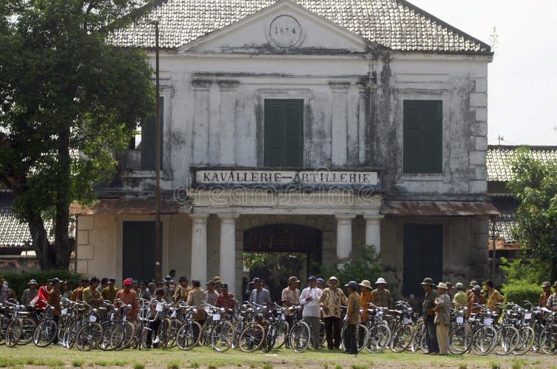 BUDGET DE TOURISME DE L'INDONÉSIE ASIE DU SUD-EST photo stock