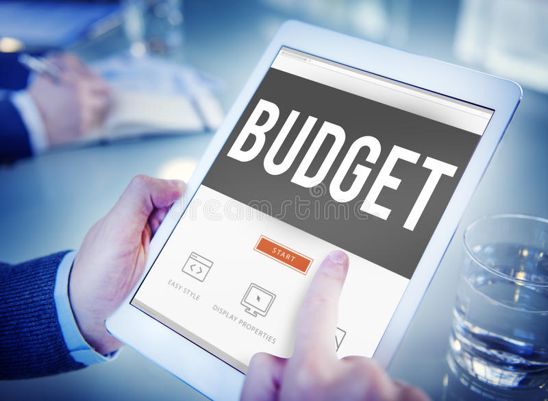 Budget Fund Investment Capital Economy Concept royalty free stock photography