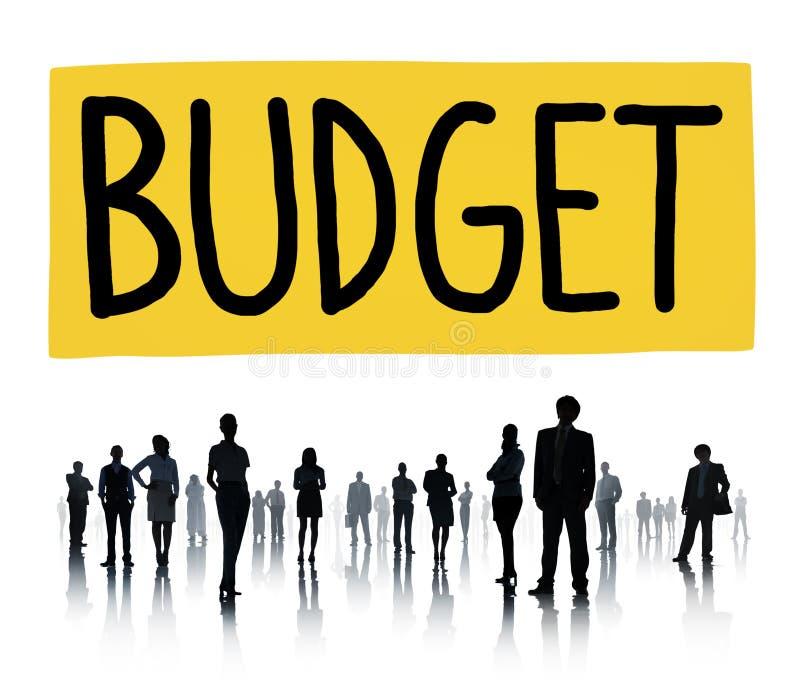 Budget-Kapitals-Anlagekapital-Wirtschafts-Konzept lizenzfreie stockfotos
