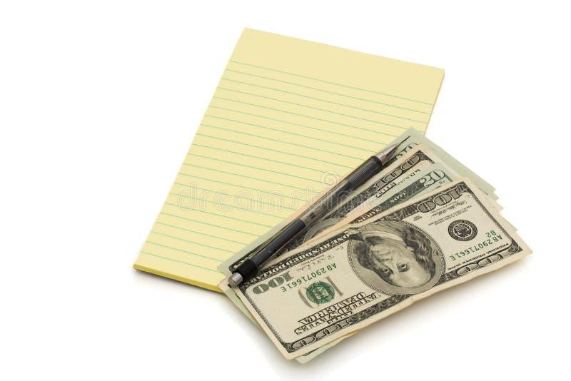 budgetera dina pengar fotografering för bildbyråer