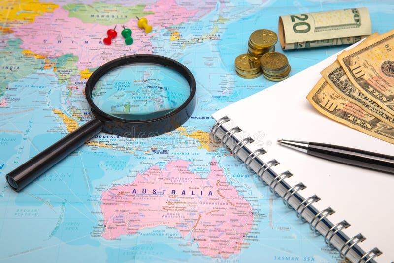 Budgetreise lizenzfreies stockfoto