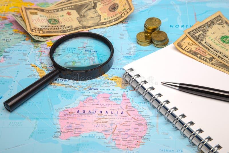 Budgetreise lizenzfreie stockbilder