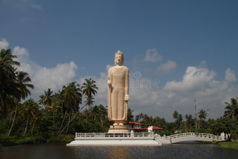 Budha пляжем стоковая фотография