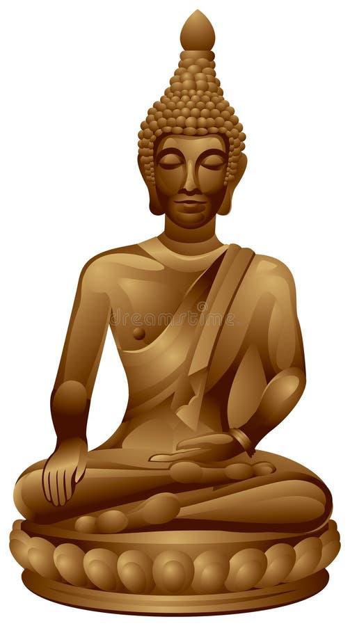 Budha ilustração do vetor