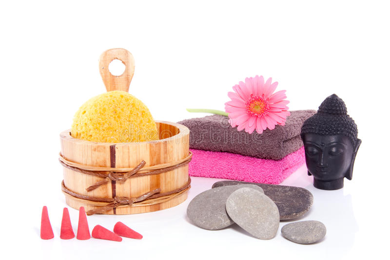 budha dekoraci wellness zdjęcie stock