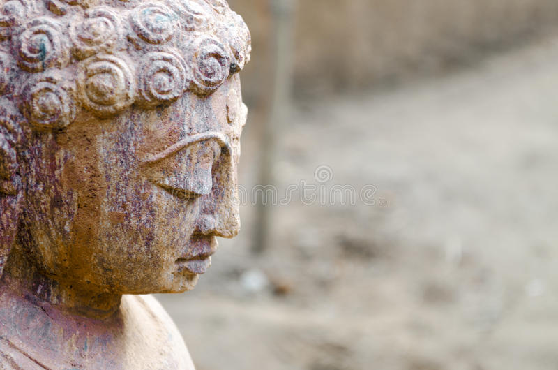Budha Peace stone statue royalty free stock images