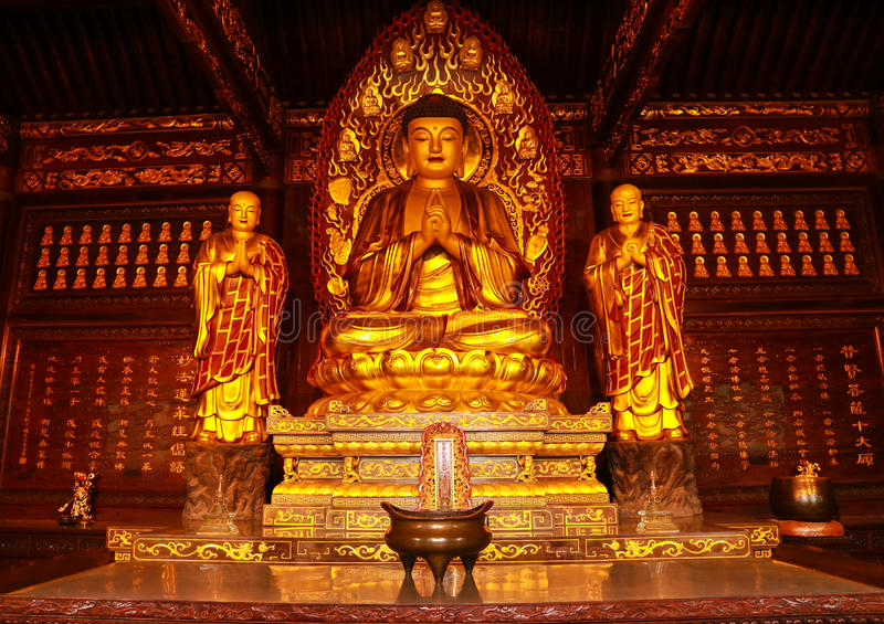 Budha sculpture royalty free stock photography