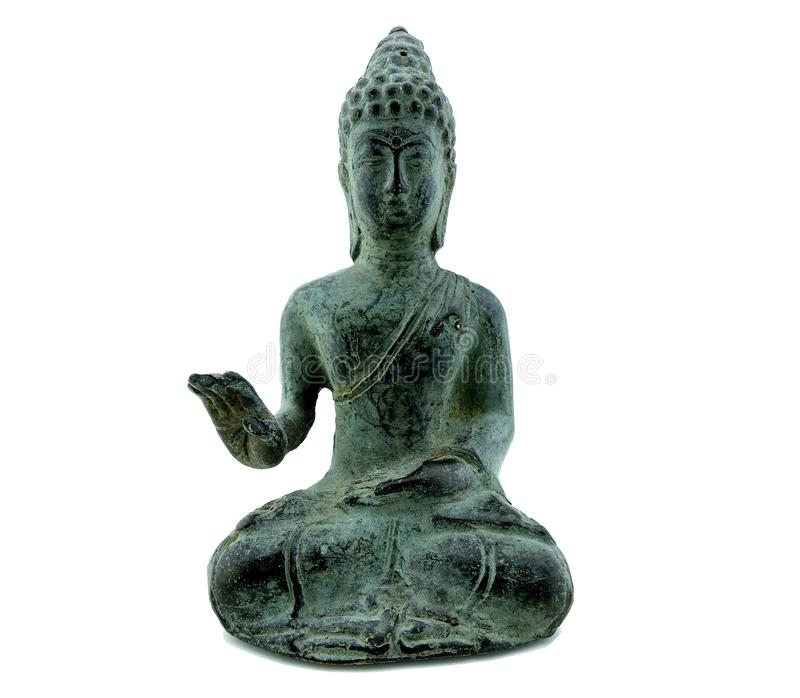 Budha statua odizolowywająca obrazy stock