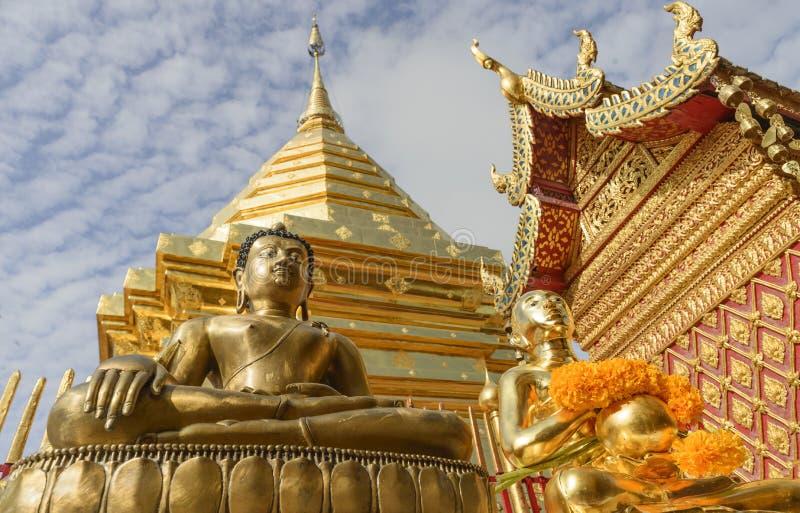 Budha staty royaltyfria foton