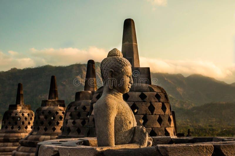 Budha Stupa stock image