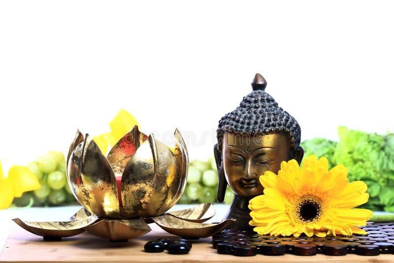 Budhha meditation fotografering för bildbyråer
