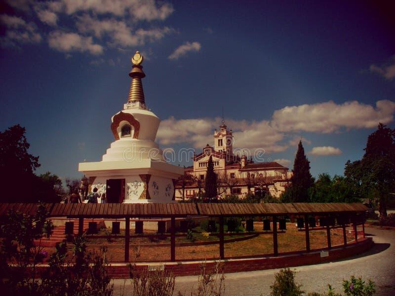 Budhism-Kloster lizenzfreies stockbild