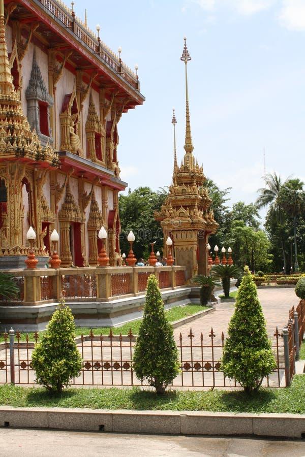 Budhist świątynia w Tajlandia zdjęcia stock