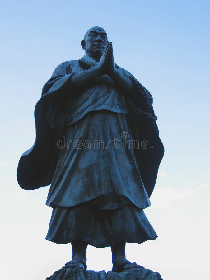 Download Budhist saint editorial stock photo. Image of robes, stone - 17793